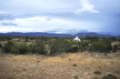 Church And Yucca Original by Hugh Smith