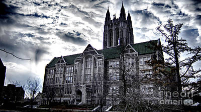 Church At Boston College Art Print