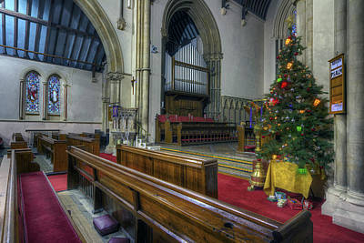 Photograph - Church At Christmas V2 by Ian Mitchell