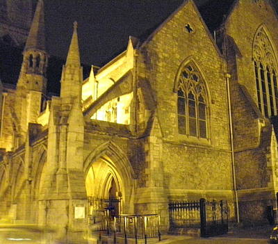 Photograph - Church At Night by William Haggart