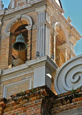Photograph - Church Bell Tower In Puerto Vallarta by Kirsten Giving