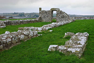 Photograph - Church Building - Nendrum Monastic Site by Jane McIlroy