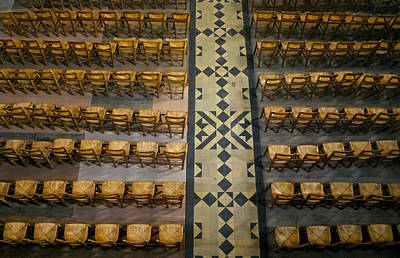 Photograph - Church Chairs by Jenny Setchell