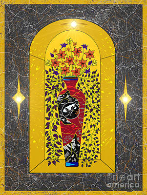 Painting - Church Decor by Lewanda Laboy