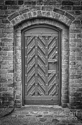 Medieval Temple Photograph - Church Door 02 by Antony McAulay