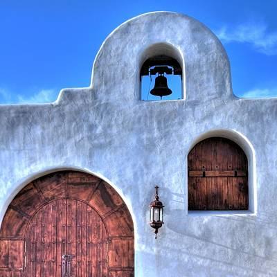 Photograph - Church Door 31942 2 by Jerry Sodorff