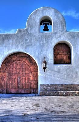 Photograph - Church Door 31942 by Jerry Sodorff