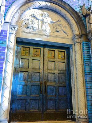 Photograph - Church Door II by Becky Lupe