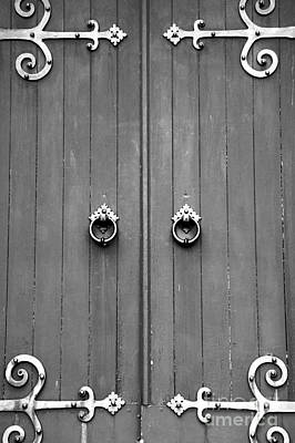Photograph - Church Door  by John  Mitchell
