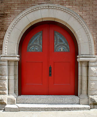 Photograph - Church Door by Karen Adams