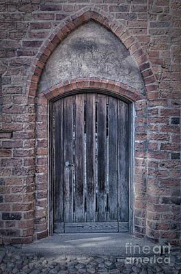 Medieval Temple Photograph - Church Doors 01 by Antony McAulay