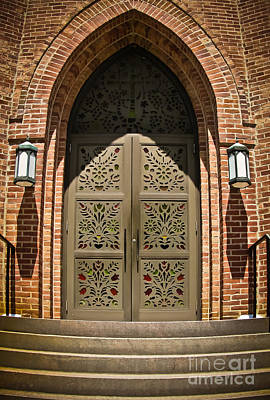 Photograph - Church Doors by Colleen Kammerer