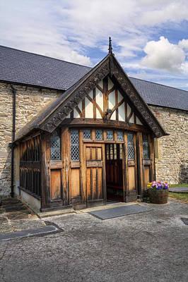 Church Entrance Art Print by Ian Mitchell