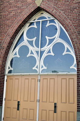 Photograph - Church Entrance by Tikvah's Hope