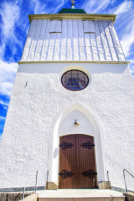 Photograph - Church Front Door by Rick Bragan