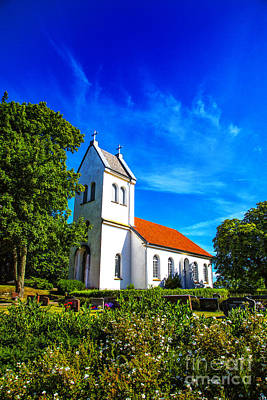 Photograph - Church Garden by Rick Bragan