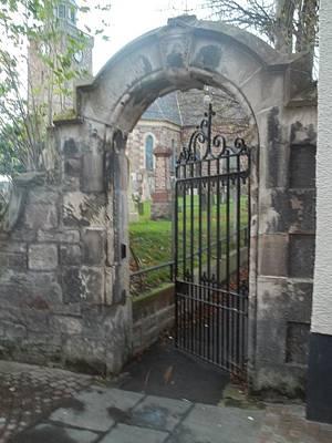 Church Gate Art Print