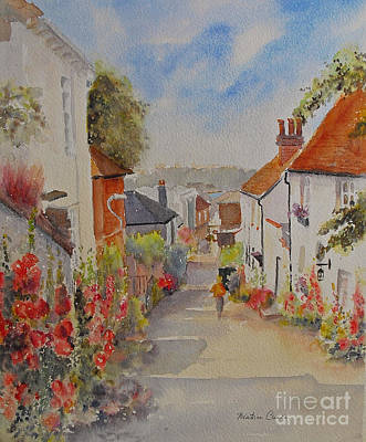 Painting - Church Hill Hythe Kent by Beatrice Cloake