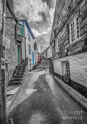Port Isaac Cornwall Photograph - Church Hill Port Isaac by Chris Thaxter