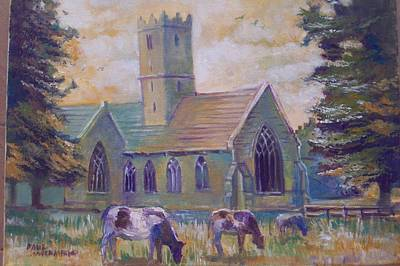 Painting - Church In Adare by Paul Weerasekera