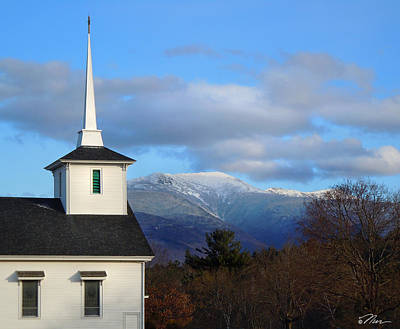 Photograph - Church In Franconia New Hampshire by Nancy Griswold
