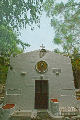 Photograph - Church In Kos by Nur Roy