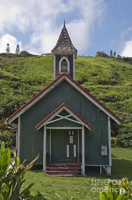 Church In Maui Art Print