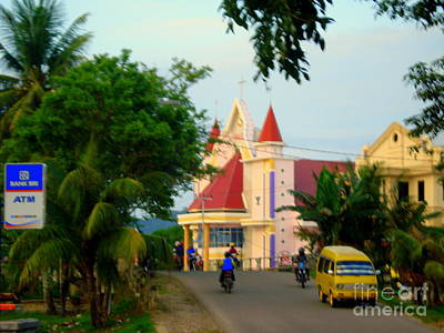 Photograph - Church In Sorong by Jason Sentuf