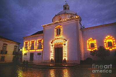 Photograph - Church In Tavira Portugal by Craig Lovell