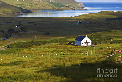 Photograph - Church In The Glen by Diane Macdonald