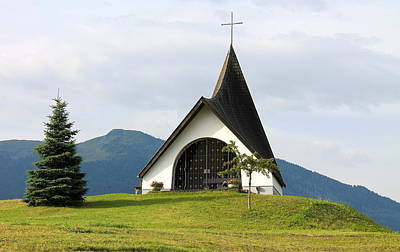 Photograph - Church In The Tyrol Region Of Austria by Michael Cervin
