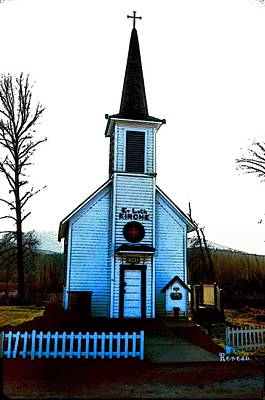 Photograph - Church In The Vale by Sadie Reneau