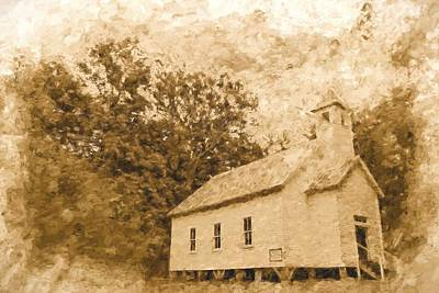 Photograph - Church In The Valley by Alice Gipson