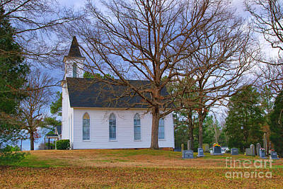 Photograph - Church In The Wildwood by Scott Hervieux