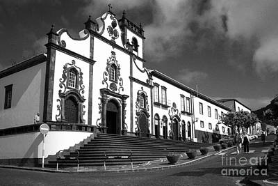 Church In Vila Franca Do Campo Print by Gaspar Avila