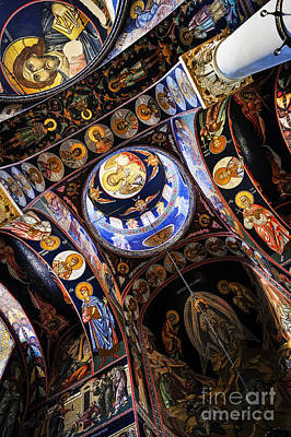 Church Art Photograph - Church Interior by Elena Elisseeva