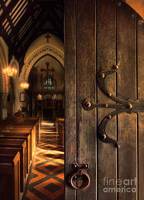 Photograph - Church Interior by Jill Battaglia