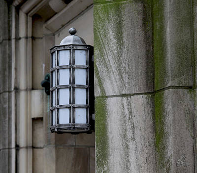 Photograph - Church Lamp by Chris Thomas
