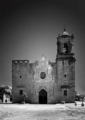 Jesus Photograph - Church Mission San Jose by Christine Till