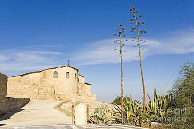 Mount Nebo Photograph - Church, Mount Nebo, Jordan by Adam Sylvester