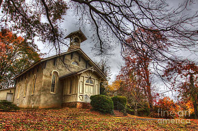 Traci Law Photograph - Church Of Autumn by Traci Law