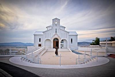 Church Of Croatian Martyrs In Udbina Art Print