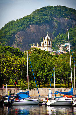 Photograph - Church Of Gloria As Seen From The Marina Da Gloria by Celso Diniz