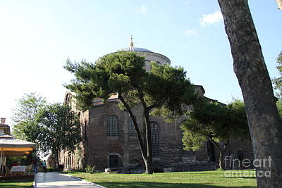 Church Of Hagia Eirene I - First Courtyard Topkapi Palace Art Print by Christiane Schulze Art And Photography