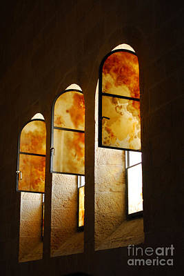 Photograph - Church Of Heptapegon In Israel by Eva Kaufman