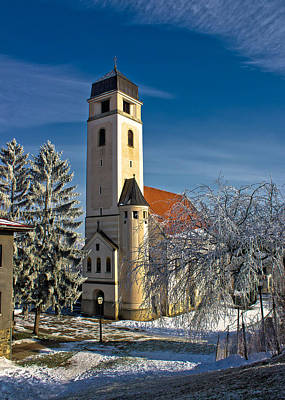 Photograph - Church Of Holy Cross In Krizevci by Brch Photography