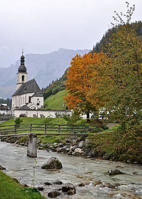 Church Of Ramsau Original