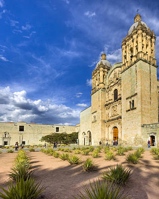 Photograph - Church Of Santo Domingo De Guzman In Oaxaca by Mark E Tisdale