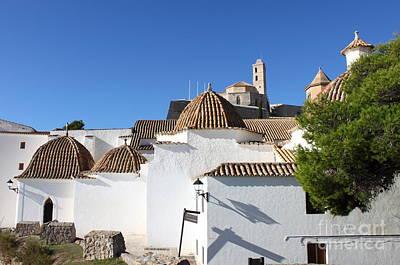 Church Of Santo Domingo In Ibiza Art Print