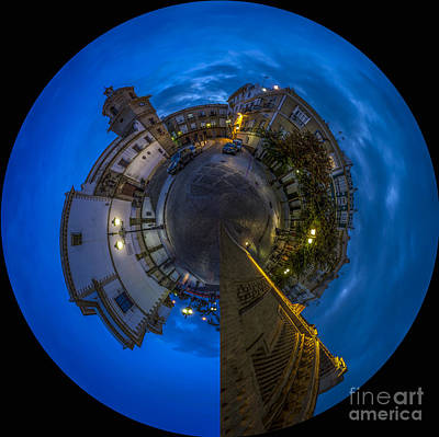 Photograph - Santo Domingo Little Planet Cadiz Spain by Pablo Avanzini